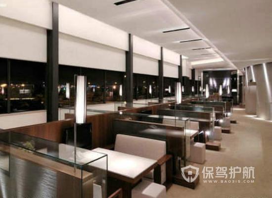 现代风格饭店装修效果图