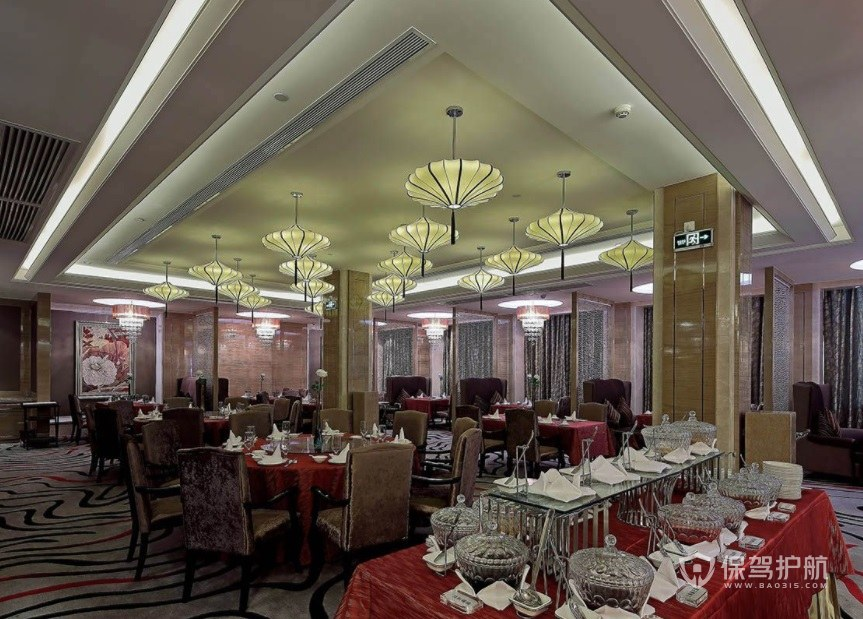 意大利现代餐厅装修效果图