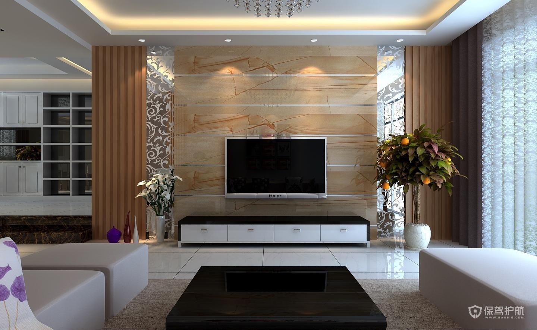 现代简约客厅电视柜怎么设计好?现代简约客厅电视柜装修效果图