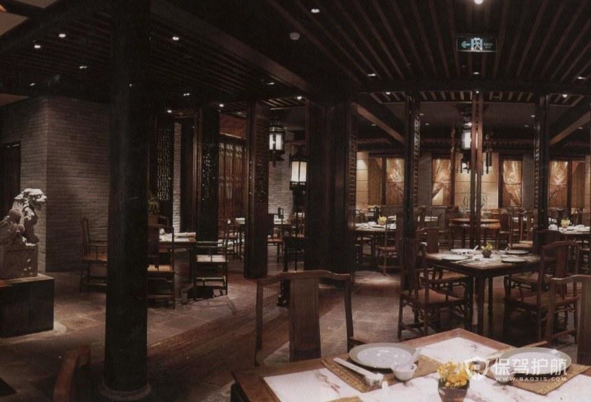 老北京中式餐厅装修效果图