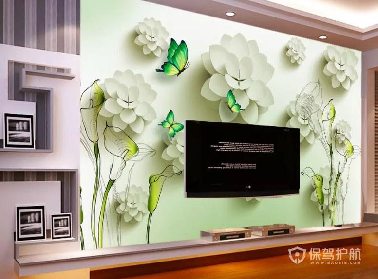 3d壁画做电视背景墙好不好? 3d壁画电视背景墙图片