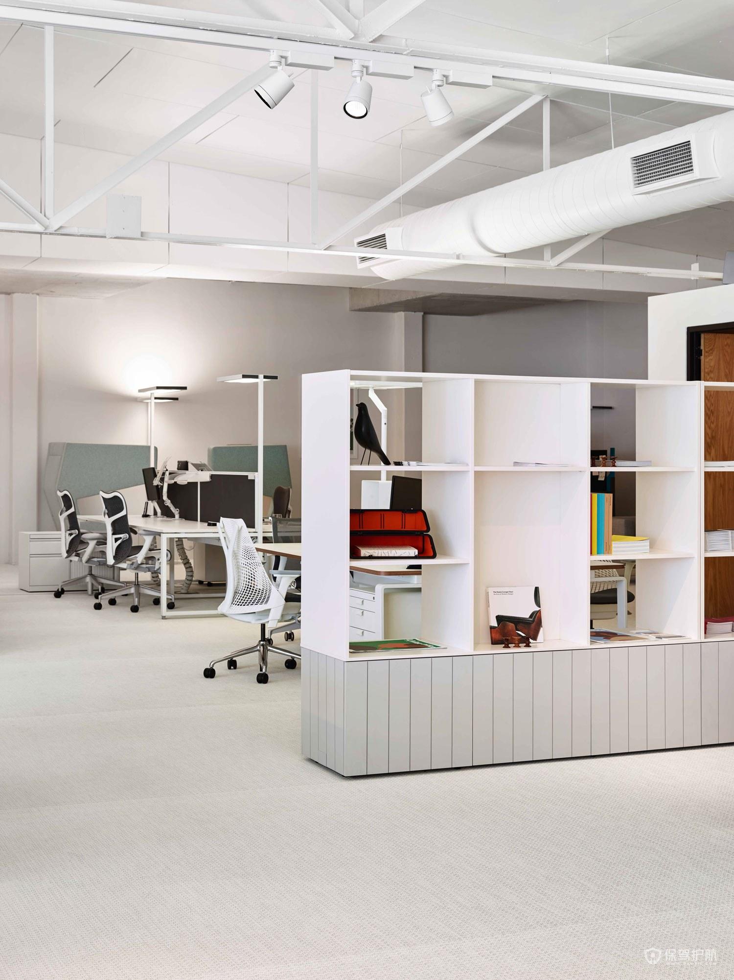 创意风格办公室办公区装修效果图