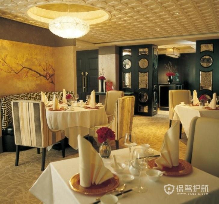 意大利复古餐厅装修效果图