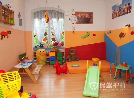 小型幼儿园装修效果图
