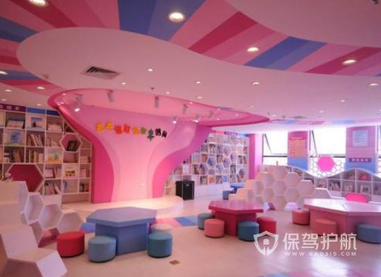 温馨现代风幼儿园装修效果图