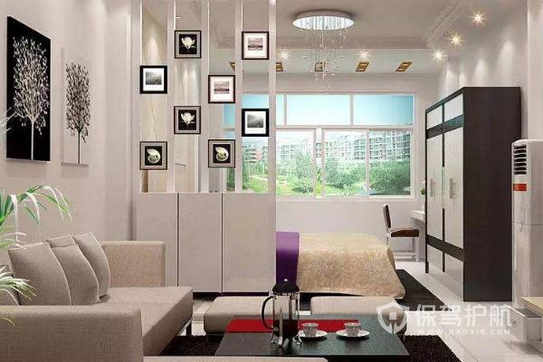 客厅怎样隔房间?客厅隔房间效果图