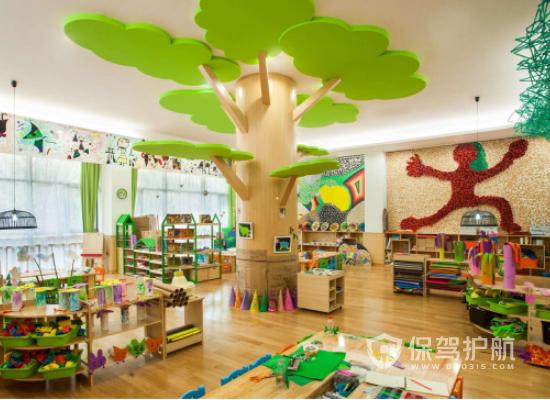 简约风格幼儿园装修效果图