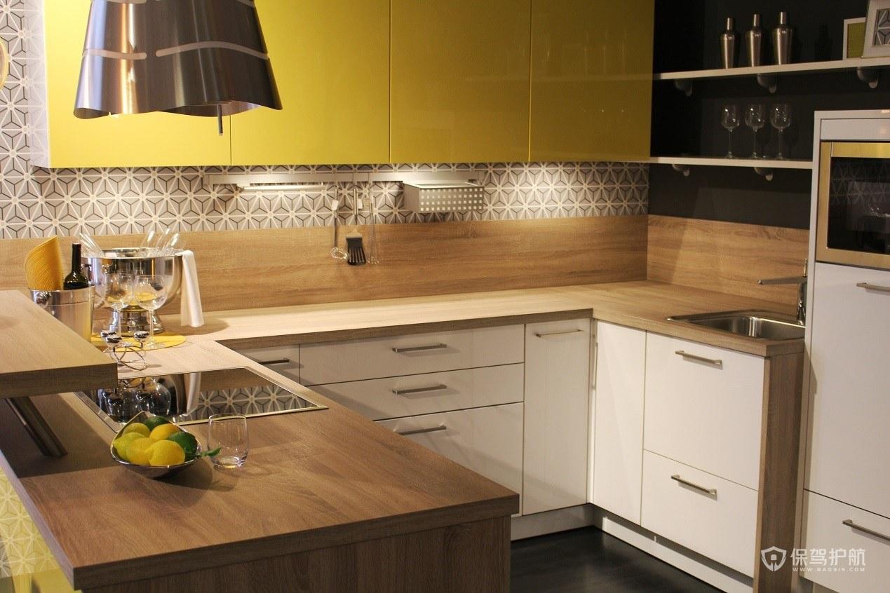 厨房橱柜颜色怎么搭配?厨房橱柜颜色搭配效果图