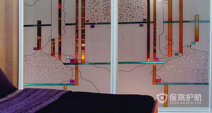 【客厅装修】客厅和卧室透光隔断墙怎么做