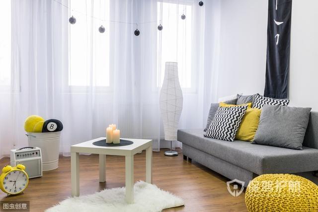 10㎡的客厅5种设计方案,小户型也能大2倍