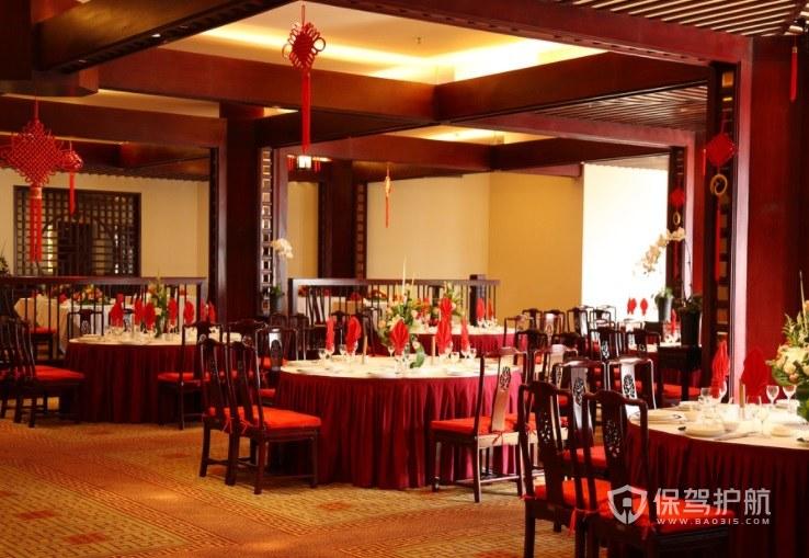 古典中式餐厅装修效果图
