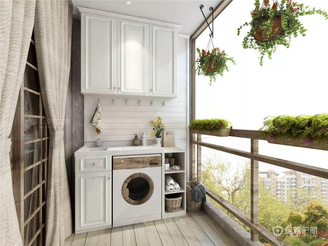 阳台柜高度是多少?用什么材料好?