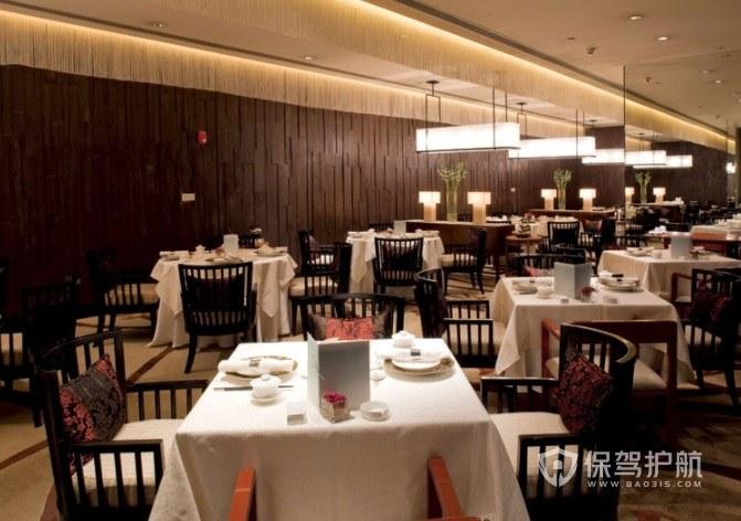 新古典简约餐厅装修效果图