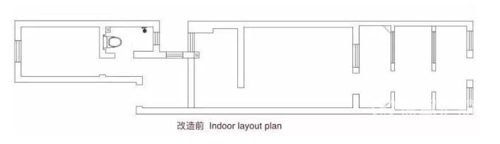 61㎡奇葩楼房改造,过道狭长,房间潮湿阴暗,居住环境就像住走廊