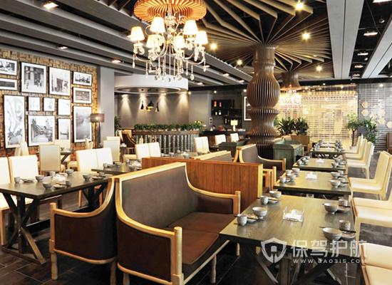 【餐厅装修】特色轻食餐厅装修细节