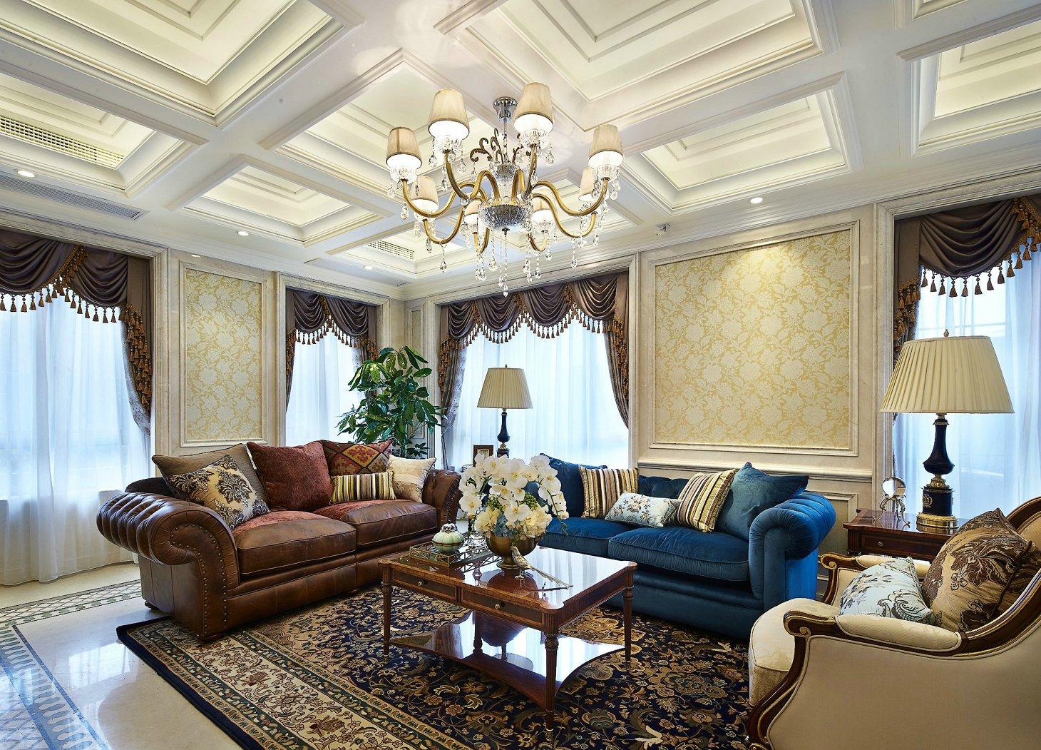 金河谷三期273平米美式风格装修