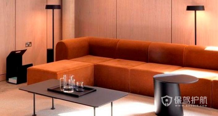 现代办公室休息区装修效果图