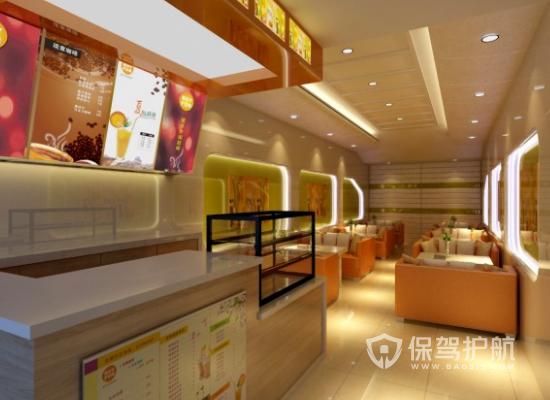 網紅奶茶店如何設計好?網紅奶茶店設計方案