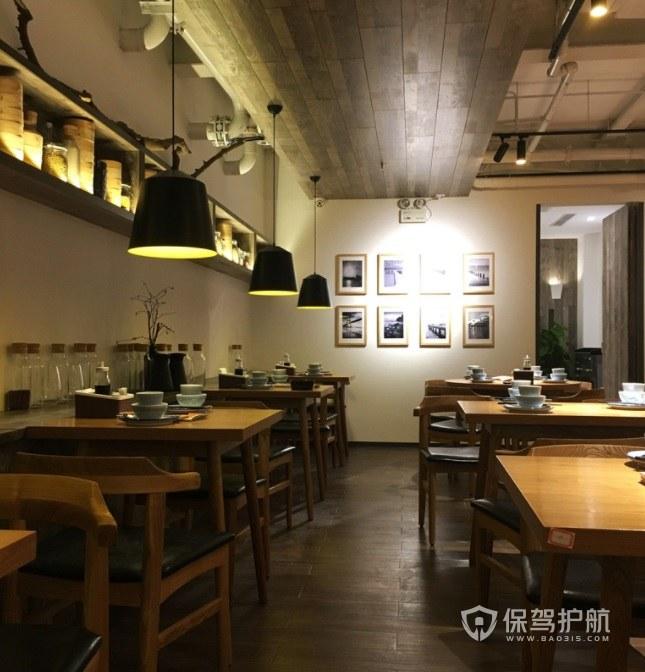 现代简约日式餐厅装修效果图