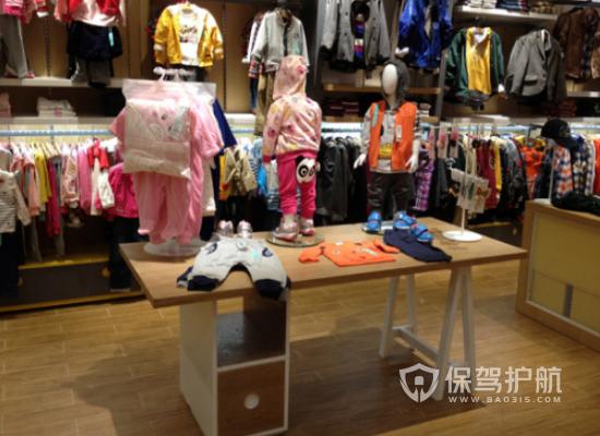 童裝店服飾如何陳列?童裝店服飾陳列方法