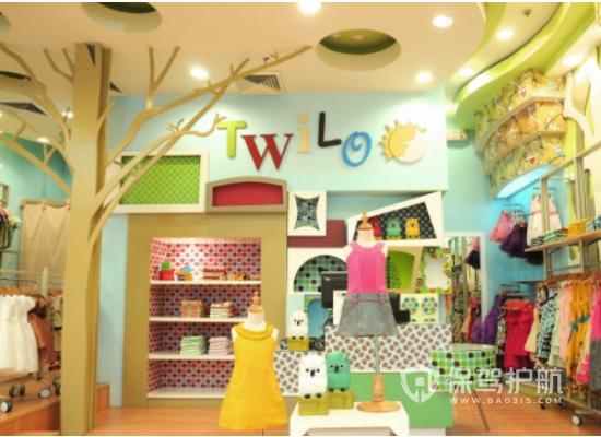 日式风格童装店装修效果图