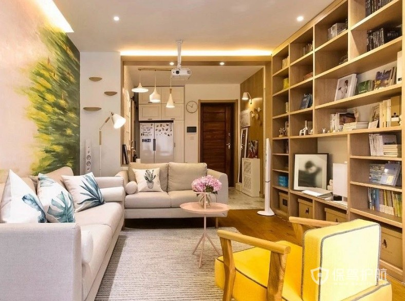 家用书柜尺寸要怎么选择? 家用书柜装饰效果图