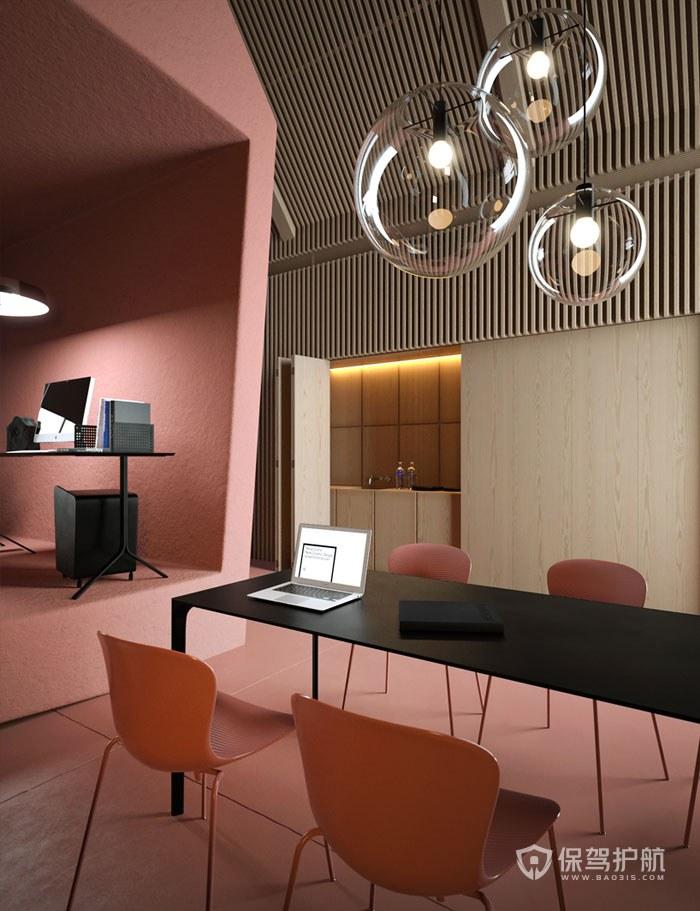 小户型办公室会议区装修效果图