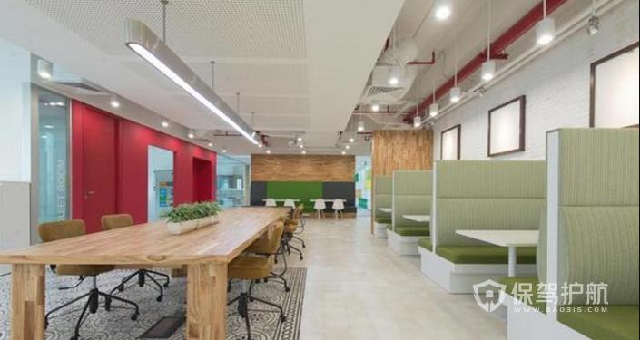 办公室用餐区装修效果图