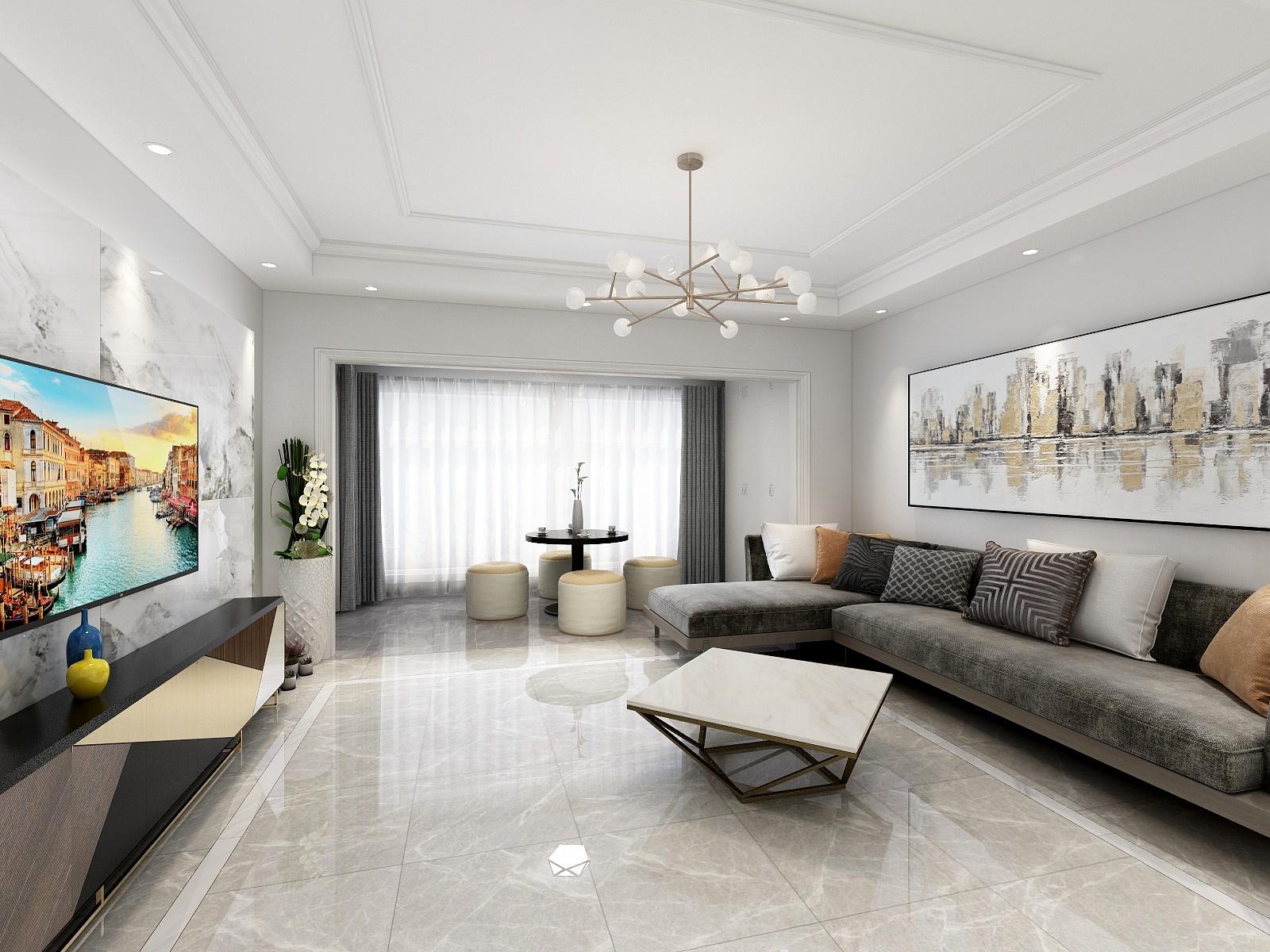 幸福家园现代风格案例