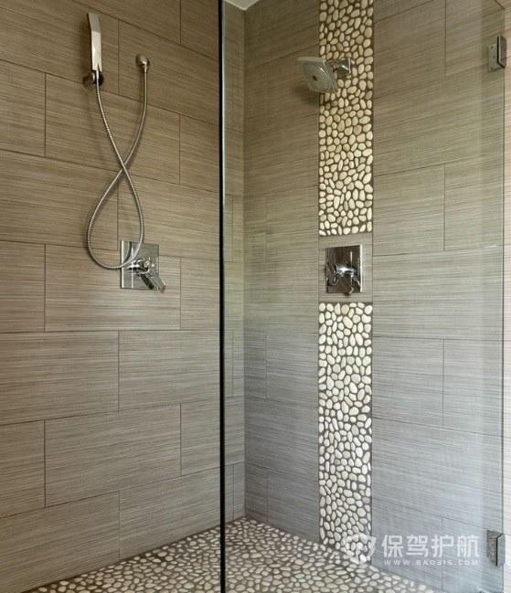 鹅卵石怎么用于室内装修?浴室地面怎么铺鹅卵石?