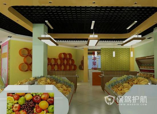 水果店吊顶如何安装 水果店吊顶安?#23433;?#39588;