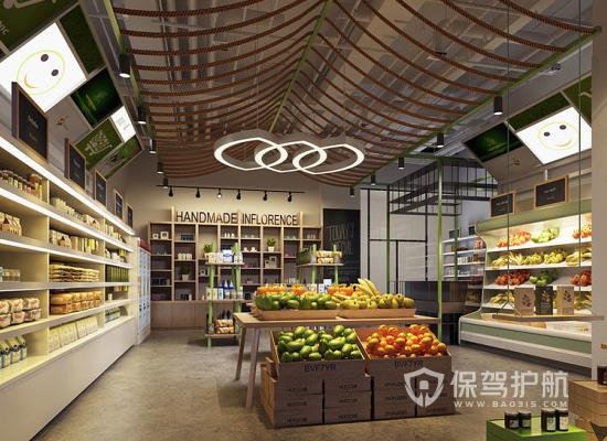 如何设计好水果店铺?水果店铺设计三大原则