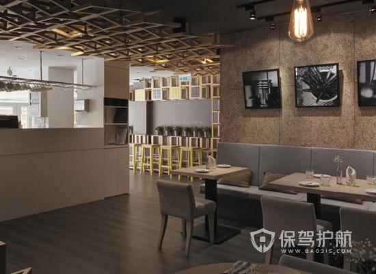 现代工业咖啡馆装修效果图