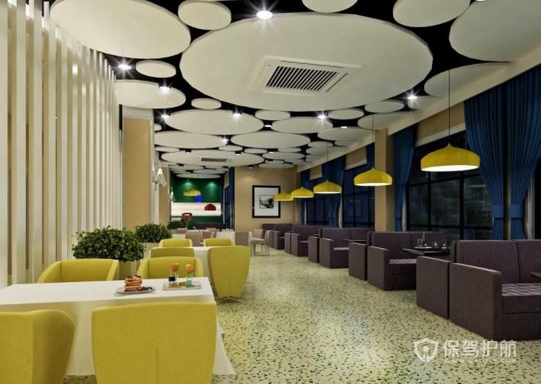 现代简约风餐厅装修效果图