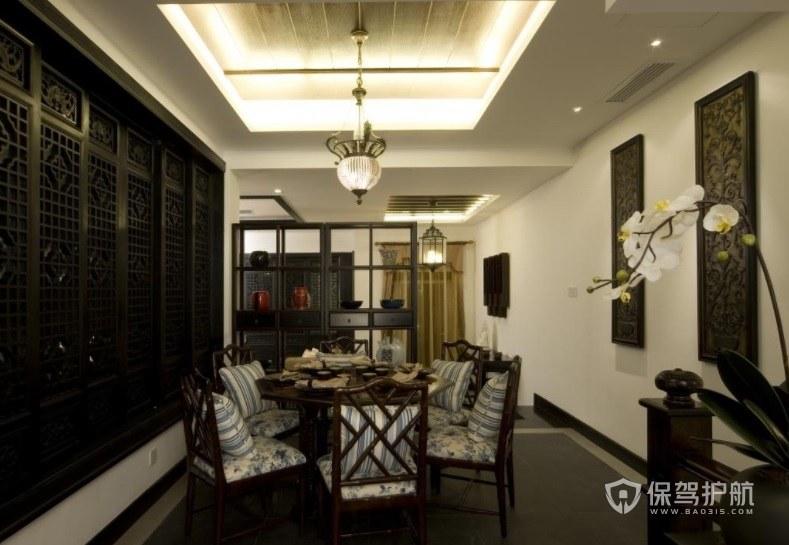 中式古典餐厅包厢装修效果图