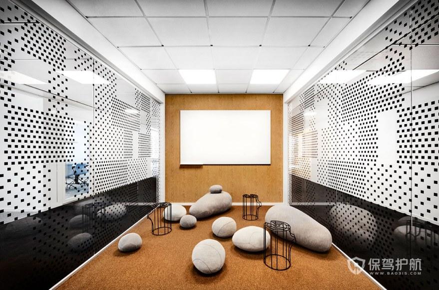 创意办公室休闲区装修效果图