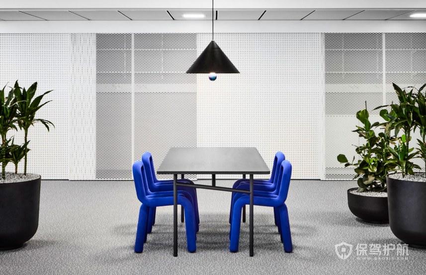 创意办公室会议区装修效果图