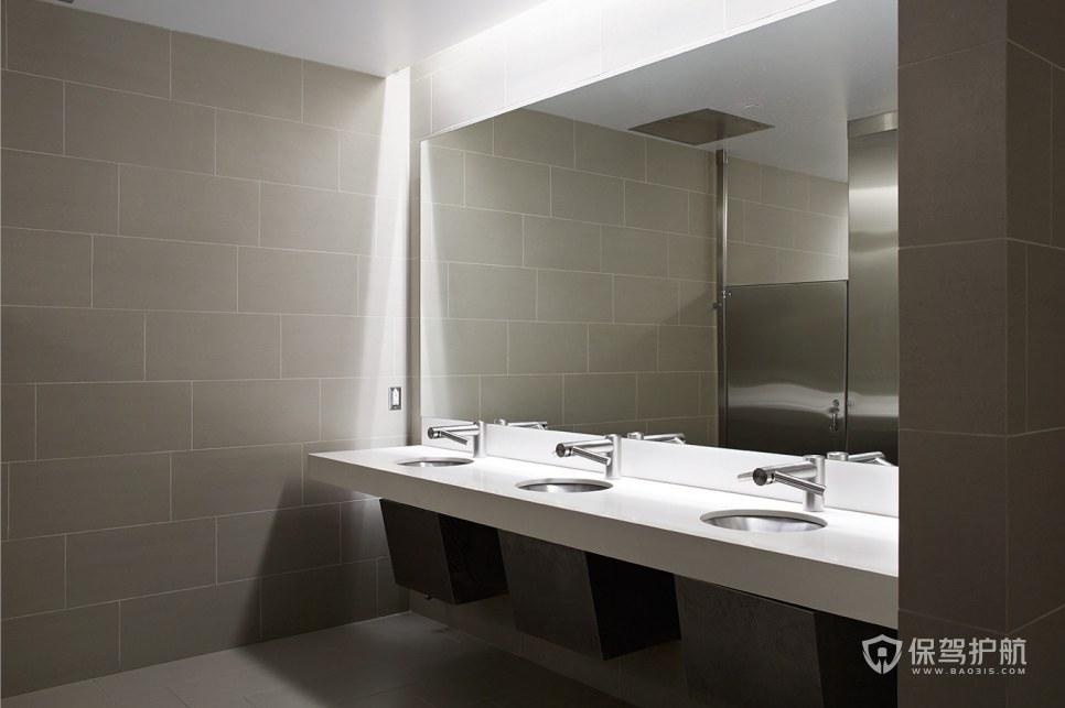 后现代风格办公室卫生间装修效果图