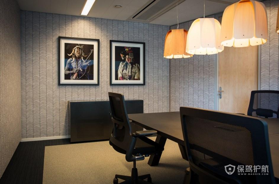 古典风格办公会议室装修效果图