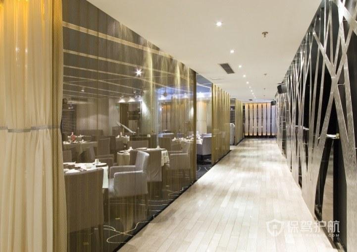 现代简欧餐厅装修效果图