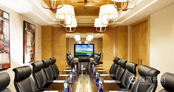 豪华欧式会议室灯饰装修效果图