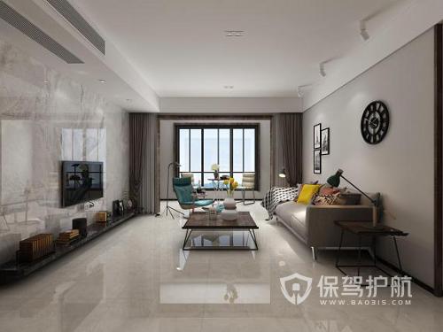 客厅有哪些不贴墙砖的理由?客厅墙面用什么材料好?