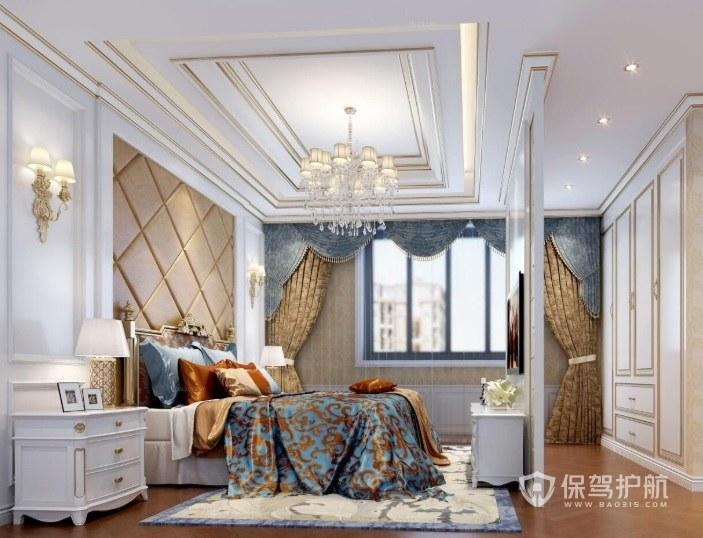 法式风格的特点是什么?法式风格卧室怎么装修设计?