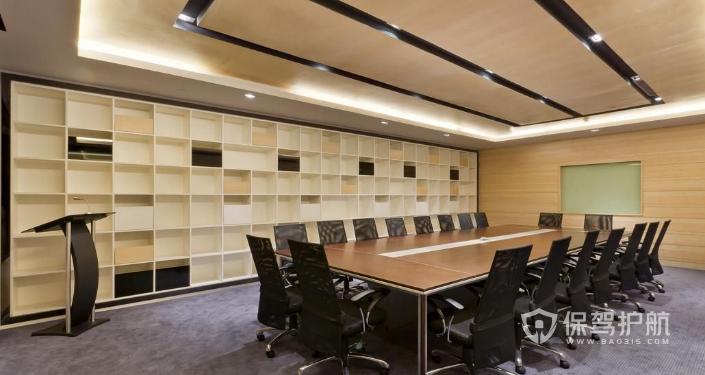 会议室壁柜装修效果图