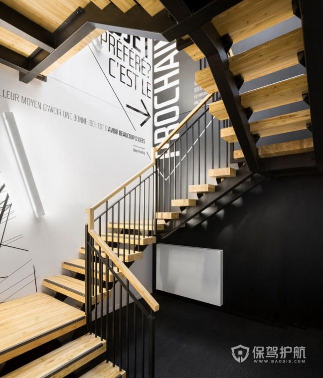 复式办公室楼梯装修效果图