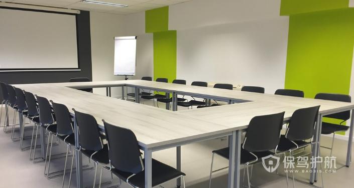 简约办公会议室装修效果图