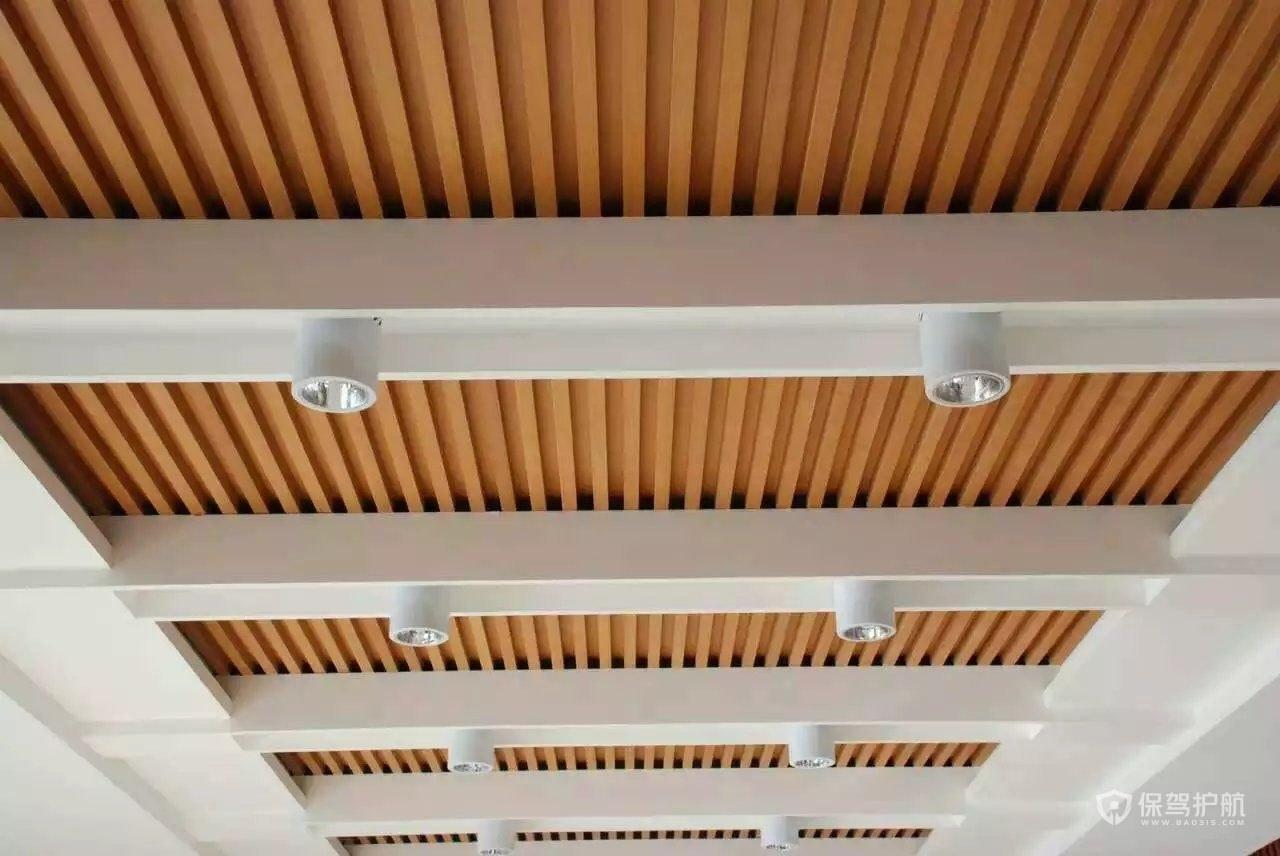 生态木吊顶有什么优点?生态木吊顶效果图