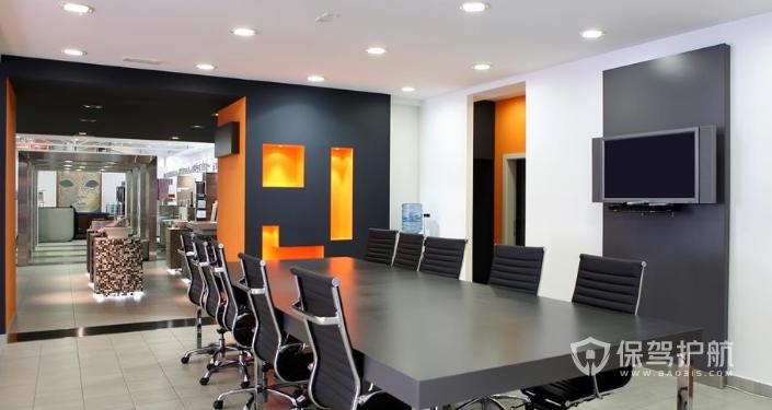 开放式会议室装修效果图