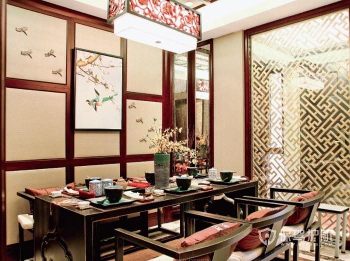日式和风餐厅装修效果图