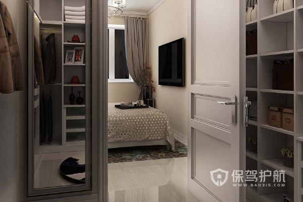 卧室厕所改衣帽间设计图-保驾护航装修网